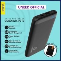 UNEED UPB101PD QuickBox PD10 Power Bank 10000 mAh Qualcomm 3.0