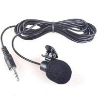 Microphone with clip - Clip Mic - Mic Clip - Clip on Mic 3.5mm