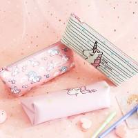 Dream Like a Unicorn Leather Pencil Case / Tempat Pensil / Alat Tulis