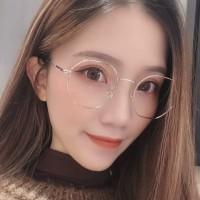 Korea Frame Kacamata Komputer Anti Radiasi Wanita Pria Fashion Besi k