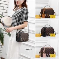 BAG Louis Vuitton Crossbody Bag Damier #T198-2 IMPORT BATAM