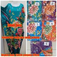 Longdress Batik Kencana Ungu