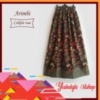 Rok panjang motif batik terbaru | grosir rok batik