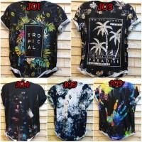 Asianista J 01-03-04-05 Tshirt Printing 3d Motif PARADISE Pakaian Pria