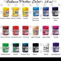 SAKURA POSTER COLOR / CAT POSTER - 15 ml