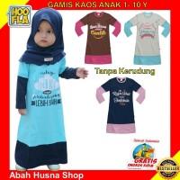 Gamis Anak Perempuan Baju Pakaian Muslim Cewe Hoofla Adem Nyaman Lucu