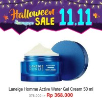 [sarogayo] READY STOCK Laneige Homme Men Active Water Gel Cream 50 ml