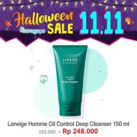 [sarogayo] READY STOCK Laneige Homme Oil Control Deep Cleanser 150 ml