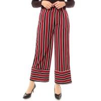 Upside Pants PANJANG Kulot TERUNIK Stripe KULOT TERMURAH KEKINIAN Kulo