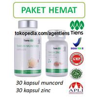 Obat-Kuat Herbal Tiens Stamina Pria 30 kapsul Muncord Zinc
