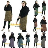 Baju Renang Muslimah Standar Motif Baru by Aghnisan Ukuran S M L XL