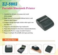 promo Zjiang Printer Resep Thermal Bluetooth - ZJ-5802
