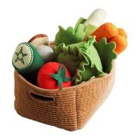 Boneka bentuk sayur-sayuran IKEA DUKTIG set isi 14 keping