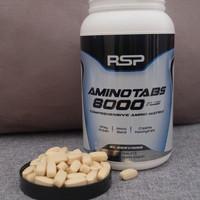RSP AminoTabs 8000+ Plus Amino Acid Suplemen Fitnes SUPLEMEN ECERAN