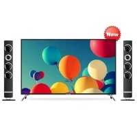 LED TV POLYTRON PLD-50TS883 FULL HD CINEMAX 2 SPEAKER TOWER TV 50 INCH
