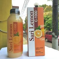 Sari Lemon Vitamin C 1000 Air Lemon Murni Jus Diet Sehat Lemona