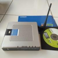 Linksys Wireless-G ADSL Gateway WAG54G - wireless router (BEKAS)