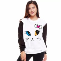SWEATER ROUNDHAND CAT#sweater#sweter wanita#sweater#baju hangat#