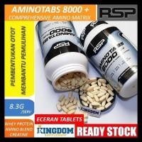 Rsp Aminotabs 8000+ Plus Amino Acid Suplemen Fitnes Eceran Limited