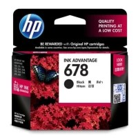 Cartridge Original HP 678 Black HP678 Black HP-678 Black