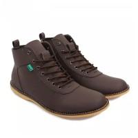 Sepatu Boots Kickers Pria Original Casual Model Brodo - Semi Boot