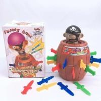 Mainan Kebersamaan Board Game Toys Jump Pirate King Roulette