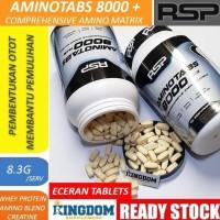 Rsp Aminotabs 8000+ Plus Amino Acid Suplemen Fitnes Eceran Terjamin