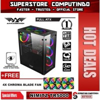 ARMAGGEDDON NIMITZ TR5000 - ATX GAMING PC CASING
