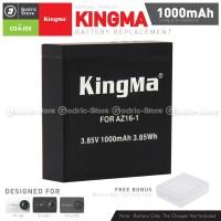 KingMa Baterai Replacement Spare Battery for Xiaomi Yi 4K 4K PLUS LIT