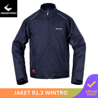 Respiro Wintroflow R1 Black | Jaket Motor Harian Pria Anti Angin