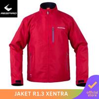 Respiro Xentra R1 Red | Jaket Pengendara Motor Harian Pria Anti Angin