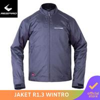 Respiro Wintroflow R1 Charcoal | Jaket Motor Harian Pria Anti Angin