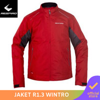 Respiro Wintroflow R1 Red | Jaket Motor Harian Pria Anti Angin