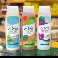 St Ives Body Wash Purifying 400ml