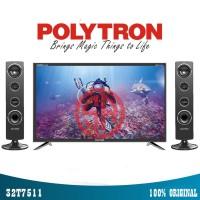 POLYTRON PLD32T711 TY TV LED - Hitam [Tower CinemaX/32 Inch]