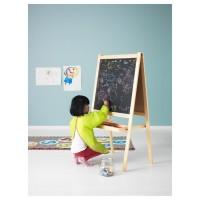 Papan Tulis Hitem Putih Easel 2 in 1 Black White Board Ikea Mala