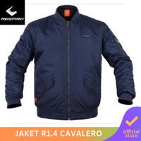 Respiro Cavalero R1 Navy | Jaket Motor Bomber Harian Pria Anti Angin