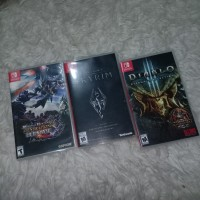 Skyrim / Diablo 3 / Monster Hunter Nintendo Switch