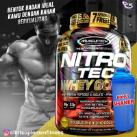Muscletech Nitrotech Whey Gold 6lbs nitro tech whey protein 6 lbs