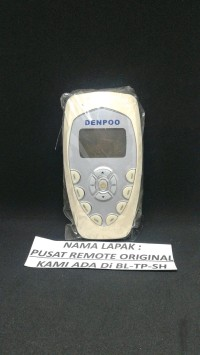 D01 REMOTE REMOT AC DENPOO TIPE LAMA ORIGINAL ASLI