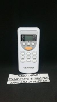 D01 REMOTE REMOT AC DENPOO PANASONIC FUJIAIRE ORIGINAL ASLI