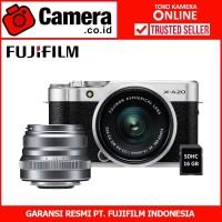 FUJIFILM X-A20 Kit 15-45mm f/3.5-5.6+XF35mm F2 (Silver)