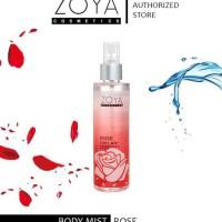 Zoya Cosmetic Body Mist Rose 100ml