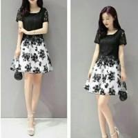 Dress Lace Flower Daisy