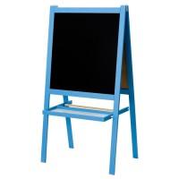 IKEA MALA Papan Tulis anak blackboard whiteboard 2 in 1 biru