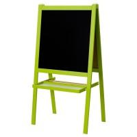 IKEA MALA Papan Tulis anak blackboard whiteboard 2 in 1 hijau