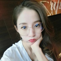 Korea Retro Besi Kacamata Anti Radiasi Wanita Pria Cowok Fashion Ringa