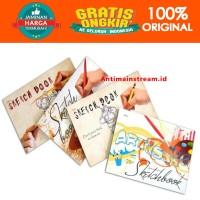 PROMO BEST SELLER KIKY SKETCH BOOK A5 A4 A3 BUKU GAMBAR SKETSA ISI 50