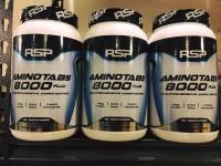 PALINGLARIS RSP AminoTabs 8000+ Plus Amino Acid Suplemen Fitnes Eceran