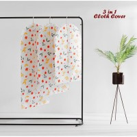 3 in 1 Cloth Organizer FLOWERS (1 set isi 3 cover ukuran berbeda)